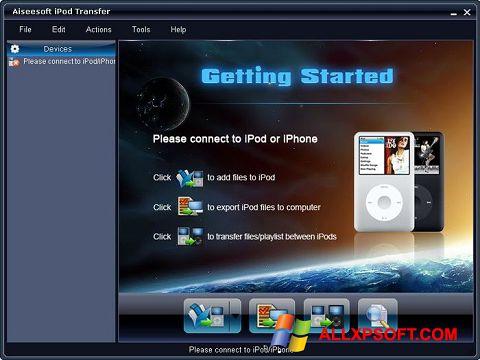 Screenshot iPhone PC Suite für Windows XP