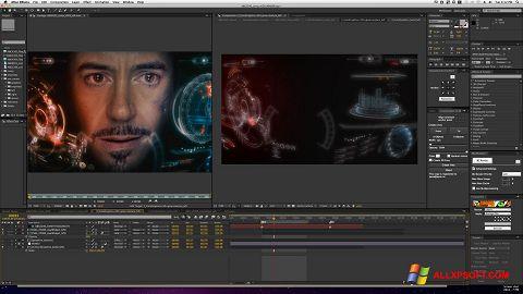 Screenshot Adobe After Effects für Windows XP