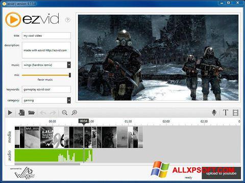 Screenshot Ezvid für Windows XP