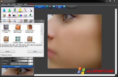 Screenshot PhotoInstrument für Windows XP