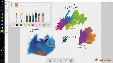 Screenshot Fresh Paint für Windows XP