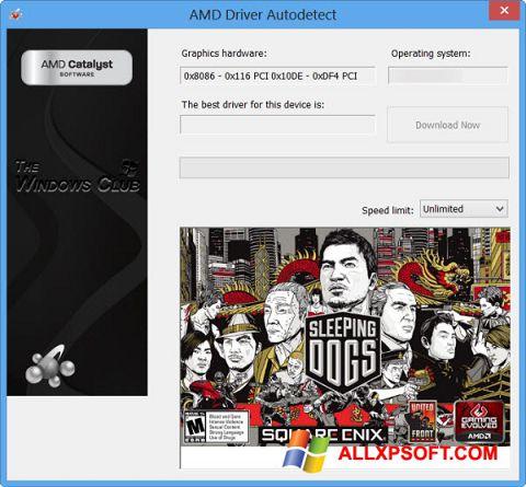 Screenshot AMD Driver Autodetect für Windows XP