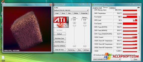 Screenshot ATITool für Windows XP