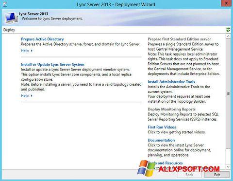 Screenshot Lync für Windows XP