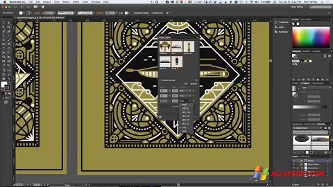 Screenshot Adobe Illustrator für Windows XP