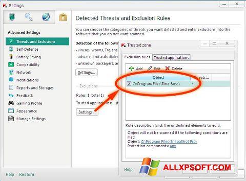 Screenshot Time Boss für Windows XP