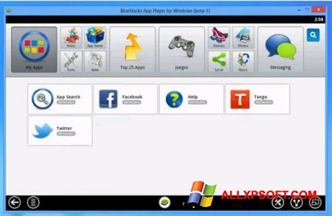 Screenshot Tango für Windows XP