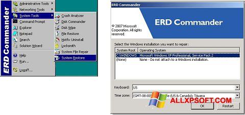 Screenshot ERD Commander für Windows XP