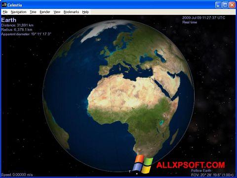 Screenshot Celestia für Windows XP