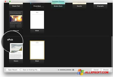 Screenshot iBooks für Windows XP