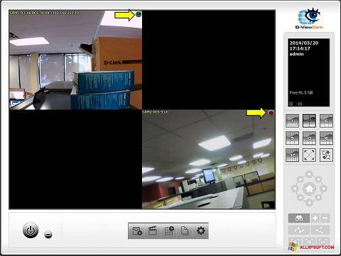 Screenshot D-ViewCam für Windows XP