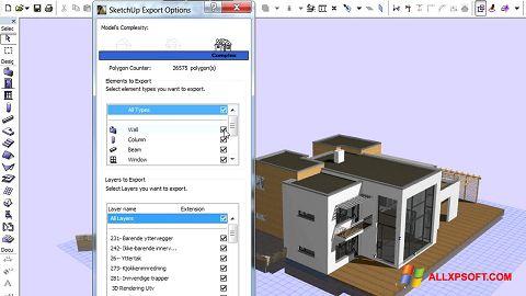 Screenshot ArchiCAD für Windows XP