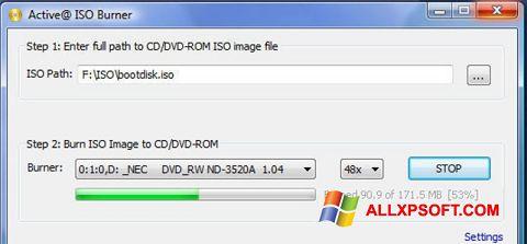 Screenshot ISO Burner für Windows XP