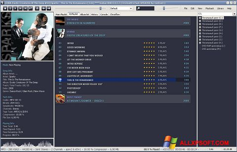 Screenshot Foobar2000 für Windows XP