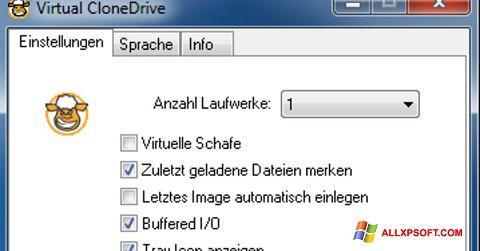 Screenshot Virtual CloneDrive für Windows XP