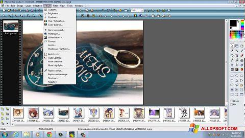 Screenshot PhotoFiltre Studio X für Windows XP