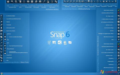 Screenshot Ashampoo Snap für Windows XP
