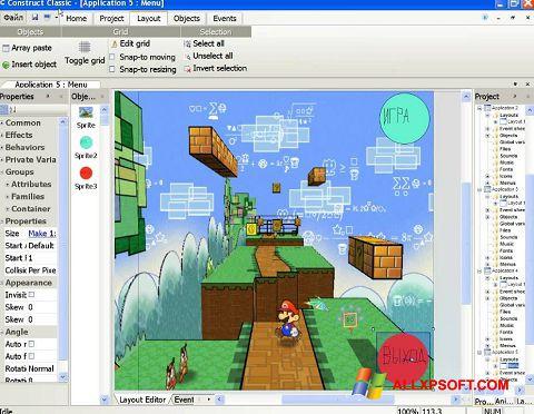 Screenshot Construct Classic für Windows XP