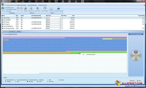 Screenshot PerfectDisk für Windows XP