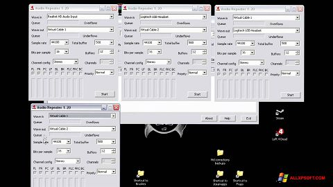 Screenshot Virtual Audio Cable für Windows XP