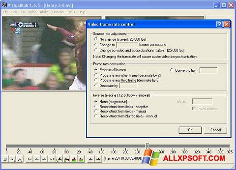 Screenshot VirtualDubMod für Windows XP