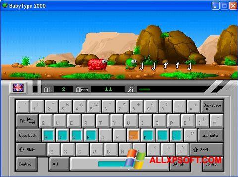 Screenshot BabyType für Windows XP