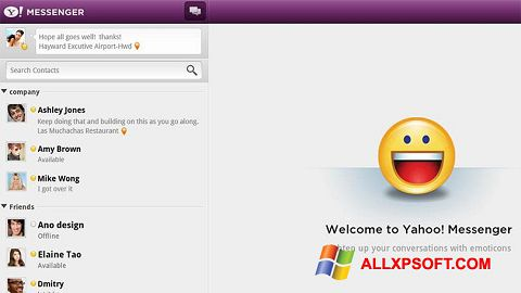 Screenshot Yahoo! Messenger für Windows XP