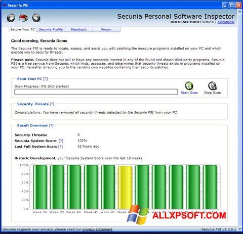 Screenshot Psi für Windows XP