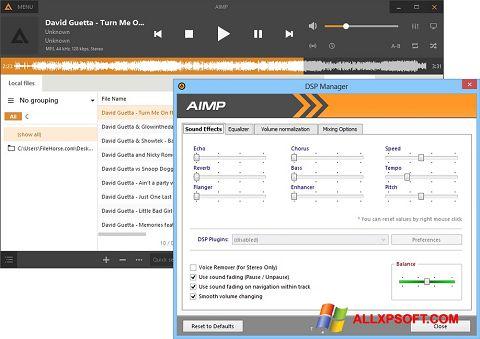 Screenshot AIMP für Windows XP