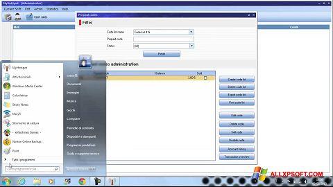 Screenshot MyHotspot für Windows XP