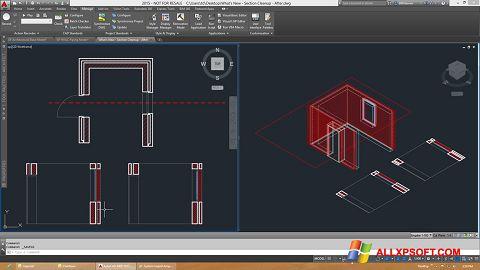 Screenshot AutoCAD Architecture für Windows XP