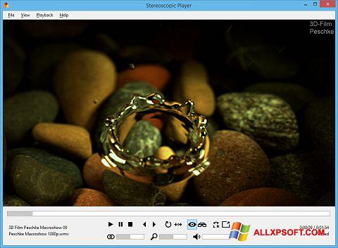 Screenshot Stereoscopic Player für Windows XP