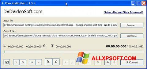 Screenshot Free Audio Dub für Windows XP