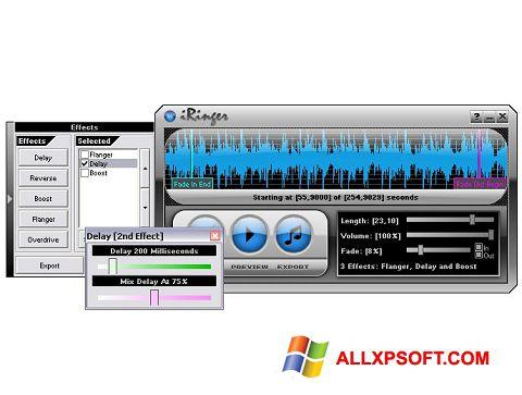 Screenshot iRinger für Windows XP