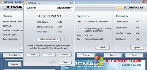 Screenshot 3DMark06 für Windows XP
