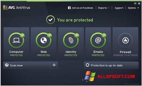 Screenshot AVG AntiVirus Pro für Windows XP
