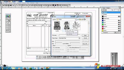 Screenshot Adobe PageMaker für Windows XP