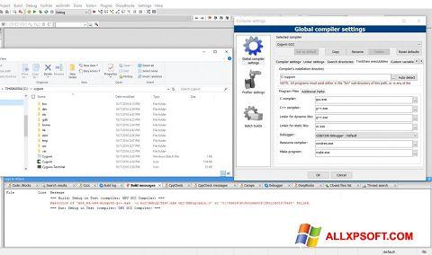 Screenshot Cygwin für Windows XP