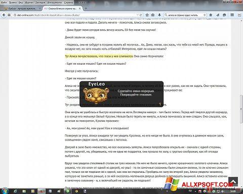 Screenshot EyeLeo für Windows XP
