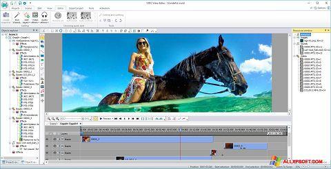 Screenshot Free Video Editor für Windows XP