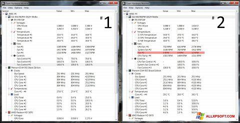 Screenshot Open Hardware Monitor für Windows XP