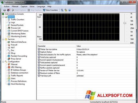 Screenshot TMeter für Windows XP