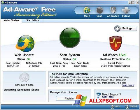 Screenshot Ad-Aware Free für Windows XP