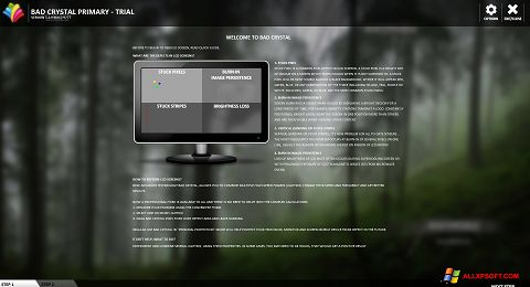 Screenshot Bad Crystal für Windows XP