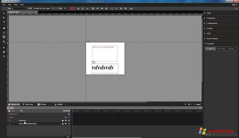 Screenshot Google Web Designer für Windows XP