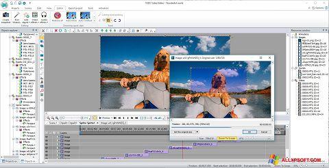 Screenshot VSDC Free Video Editor für Windows XP
