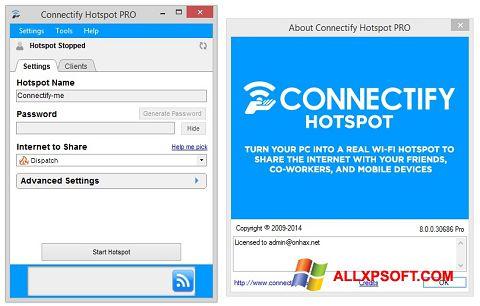 Screenshot Connectify Hotspot PRO für Windows XP