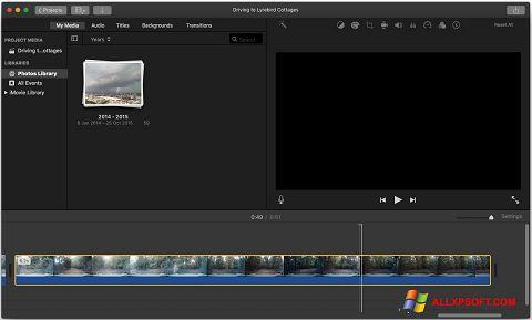 Screenshot iMovie für Windows XP