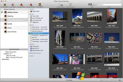 Screenshot iPhoto für Windows XP