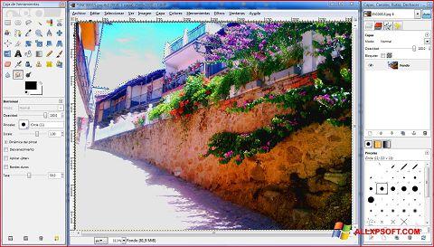 Screenshot GIMP für Windows XP